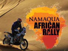 Namaqua African Rally, no smelling the daisies!